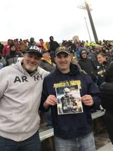 Jason attended Indiana Hoosiers vs. Michigan - NCAA Football on Nov 23rd 2019 via VetTix