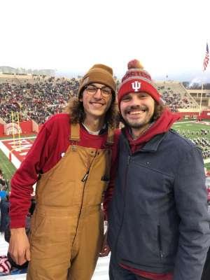 Teresa attended Indiana Hoosiers vs. Michigan - NCAA Football on Nov 23rd 2019 via VetTix