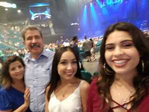 Albert attended Chris Young: Raised on Country Tour on Aug 17th 2019 via VetTix