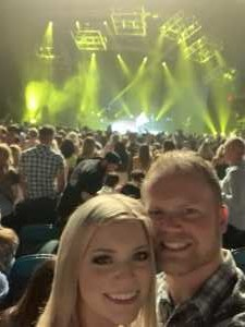 Clay attended Chris Young: Raised on Country Tour on Aug 17th 2019 via VetTix