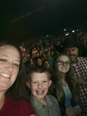 Christopher attended Chris Young: Raised on Country Tour on Aug 17th 2019 via VetTix