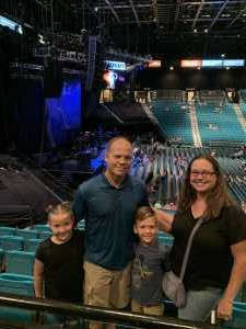 Donald attended Chris Young: Raised on Country Tour on Aug 17th 2019 via VetTix