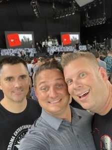 Christopher attended Breaking Benjamin - Alternative Rock on Aug 22nd 2019 via VetTix