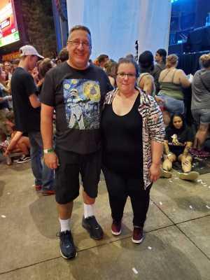 Andrew attended Breaking Benjamin - Alternative Rock on Aug 22nd 2019 via VetTix