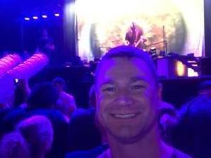 Randall attended Breaking Benjamin - Alternative Rock on Aug 22nd 2019 via VetTix