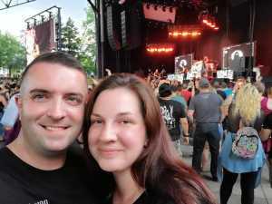 Douglas attended Breaking Benjamin - Alternative Rock on Aug 22nd 2019 via VetTix