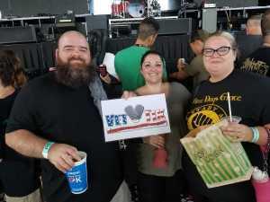 JOSHUA attended Breaking Benjamin - Alternative Rock on Aug 22nd 2019 via VetTix