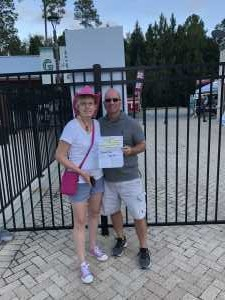Ricky attended Brad Paisley Tour 2019 - Country on Aug 22nd 2019 via VetTix