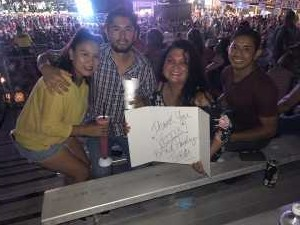 Jose attended Brad Paisley Tour 2019 - Country on Aug 22nd 2019 via VetTix