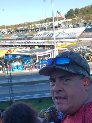 Scott attended Fall First Data 500 - Monster Energy NASCAR Cup Series on Oct 27th 2019 via VetTix