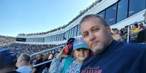 David attended Fall First Data 500 - Monster Energy NASCAR Cup Series on Oct 27th 2019 via VetTix