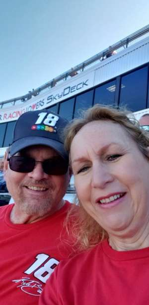 Michael attended Fall First Data 500 - Monster Energy NASCAR Cup Series on Oct 27th 2019 via VetTix