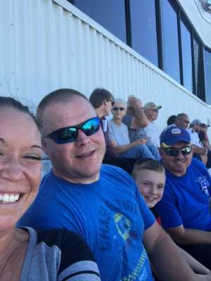 Mark attended Fall First Data 500 - Monster Energy NASCAR Cup Series on Oct 27th 2019 via VetTix
