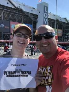 Russ attended Fall First Data 500 - Monster Energy NASCAR Cup Series on Oct 27th 2019 via VetTix