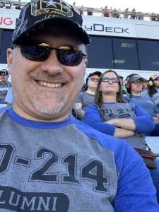 Brent attended Fall First Data 500 - Monster Energy NASCAR Cup Series on Oct 27th 2019 via VetTix