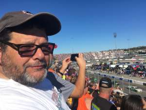 NINA attended Fall First Data 500 - Monster Energy NASCAR Cup Series on Oct 27th 2019 via VetTix