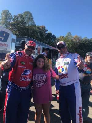 Barry attended Fall First Data 500 - Monster Energy NASCAR Cup Series on Oct 27th 2019 via VetTix