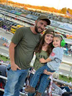 Jennifer attended Fall First Data 500 - Monster Energy NASCAR Cup Series on Oct 27th 2019 via VetTix