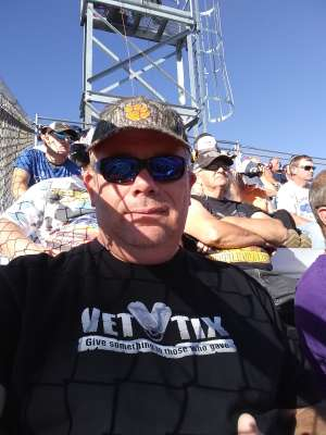 Keith attended Fall First Data 500 - Monster Energy NASCAR Cup Series on Oct 27th 2019 via VetTix