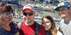 Tanya attended Fall First Data 500 - Monster Energy NASCAR Cup Series on Oct 27th 2019 via VetTix