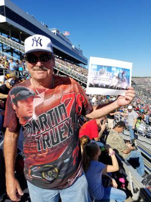 Peter attended Fall First Data 500 - Monster Energy NASCAR Cup Series on Oct 27th 2019 via VetTix
