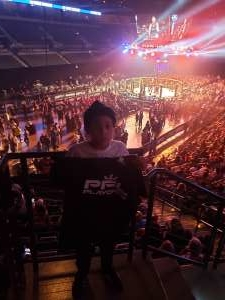 Lashaun attended 2019 Pfl Playoffs - Live Mixed Martial Arts - Presented by Professional Fighters League on Oct 11th 2019 via VetTix