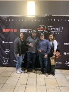 Anthony attended 2019 Pfl Playoffs - Live Mixed Martial Arts - Presented by Professional Fighters League on Oct 11th 2019 via VetTix