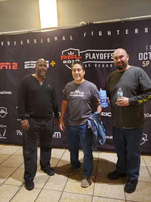 Benjamin attended 2019 Pfl Playoffs - Live Mixed Martial Arts - Presented by Professional Fighters League on Oct 11th 2019 via VetTix