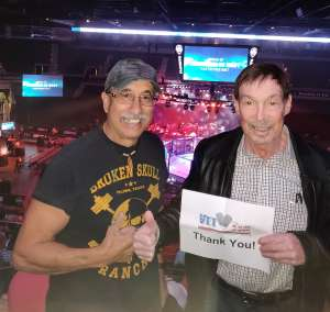 John attended 2019 Pfl Playoffs - Live Mixed Martial Arts - Presented by Professional Fighters League on Oct 11th 2019 via VetTix