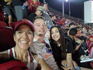 Lena attended USC Trojans vs. Stanford Cardinal - NCAA Football on Sep 7th 2019 via VetTix