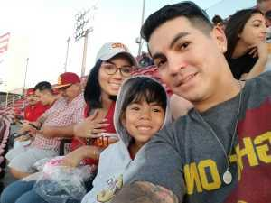Raymond attended USC Trojans vs. Stanford Cardinal - NCAA Football on Sep 7th 2019 via VetTix