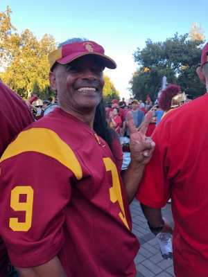 Kenneth attended USC Trojans vs. Stanford Cardinal - NCAA Football on Sep 7th 2019 via VetTix