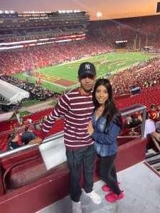 Daniel attended USC Trojans vs. Stanford Cardinal - NCAA Football on Sep 7th 2019 via VetTix