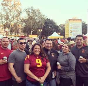 jorge attended USC Trojans vs. Stanford Cardinal - NCAA Football on Sep 7th 2019 via VetTix