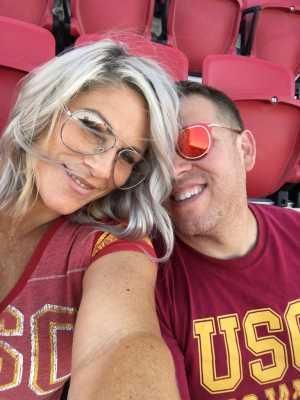 Milton attended USC Trojans vs. Stanford Cardinal - NCAA Football on Sep 7th 2019 via VetTix