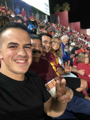 Pete attended USC Trojans vs. Stanford Cardinal - NCAA Football on Sep 7th 2019 via VetTix