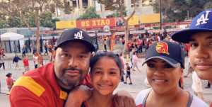 Hernan attended USC Trojans vs. Stanford Cardinal - NCAA Football on Sep 7th 2019 via VetTix