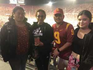 mauro attended USC Trojans vs. Stanford Cardinal - NCAA Football on Sep 7th 2019 via VetTix