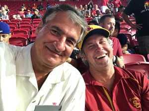 Richard attended USC Trojans vs. Stanford Cardinal - NCAA Football on Sep 7th 2019 via VetTix