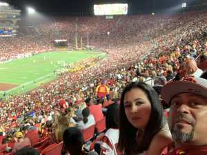 Guillermo attended USC Trojans vs. Stanford Cardinal - NCAA Football on Sep 7th 2019 via VetTix