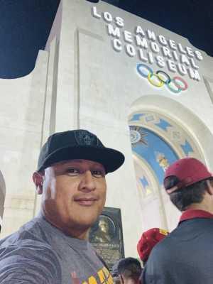 Juan attended USC Trojans vs. Stanford Cardinal - NCAA Football on Sep 7th 2019 via VetTix