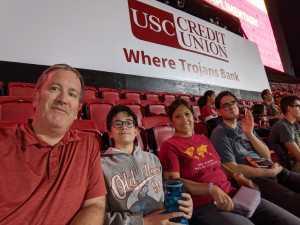 JOSHUA attended USC Trojans vs. Stanford Cardinal - NCAA Football on Sep 7th 2019 via VetTix