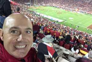 Jason attended USC Trojans vs. Stanford Cardinal - NCAA Football on Sep 7th 2019 via VetTix