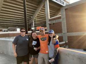 Bridget attended University of Florida Gators Football vs. University of Tennessee-martin - NCAA Football on Sep 7th 2019 via VetTix