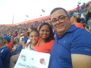 Charles attended University of Florida Gators Football vs. University of Tennessee-martin - NCAA Football on Sep 7th 2019 via VetTix