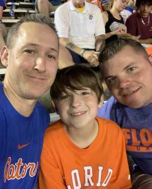 Timothy attended University of Florida Gators Football vs. University of Tennessee-martin - NCAA Football on Sep 7th 2019 via VetTix