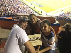 Jeffrey attended University of Florida Gators Football vs. University of Tennessee-martin - NCAA Football on Sep 7th 2019 via VetTix