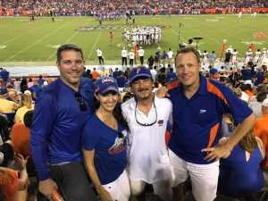 Scott attended University of Florida Gators Football vs. University of Tennessee-martin - NCAA Football on Sep 7th 2019 via VetTix