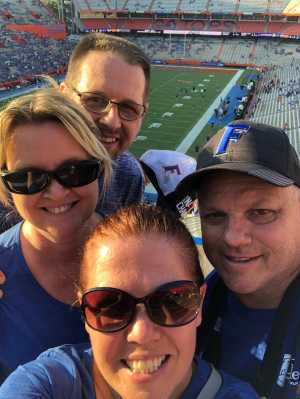Bill attended University of Florida Gators Football vs. University of Tennessee-martin - NCAA Football on Sep 7th 2019 via VetTix