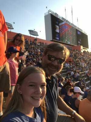 Steven attended University of Florida Gators Football vs. University of Tennessee-martin - NCAA Football on Sep 7th 2019 via VetTix